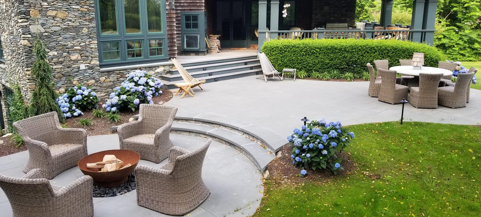 Bluestone Patio Design Shalvey Bros Landscape