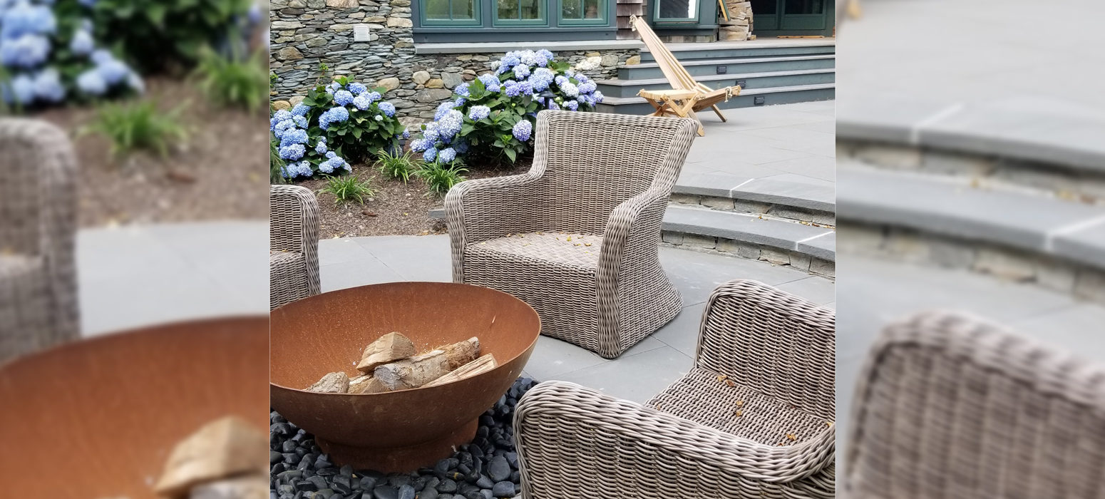 Tranquil backyard spaces