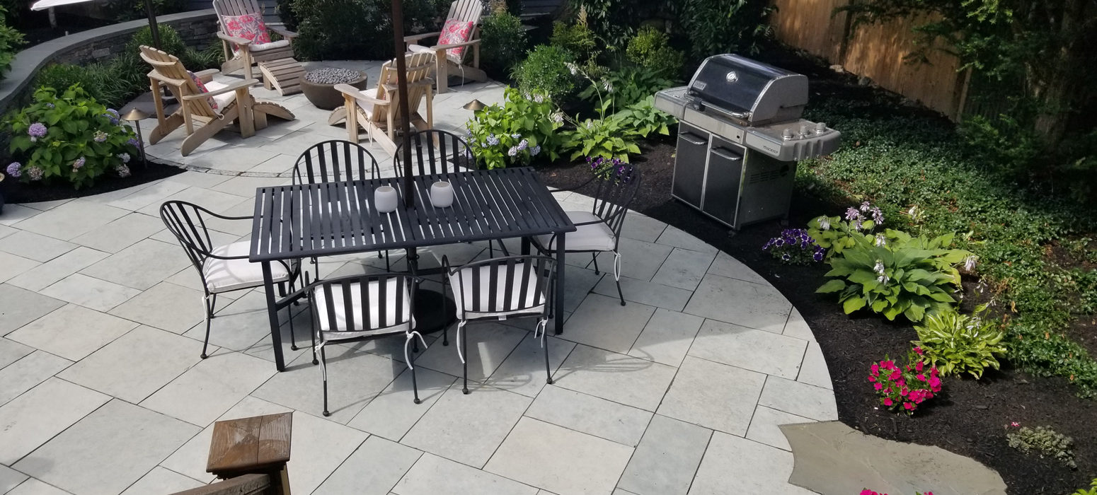 Stone and Patio work by Shalvey Bros Landscape