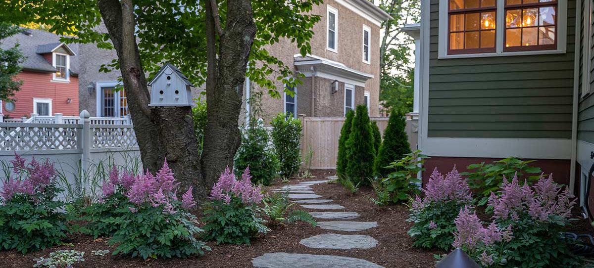 Foley Residence Walkway